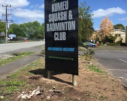 New Club Sign!
